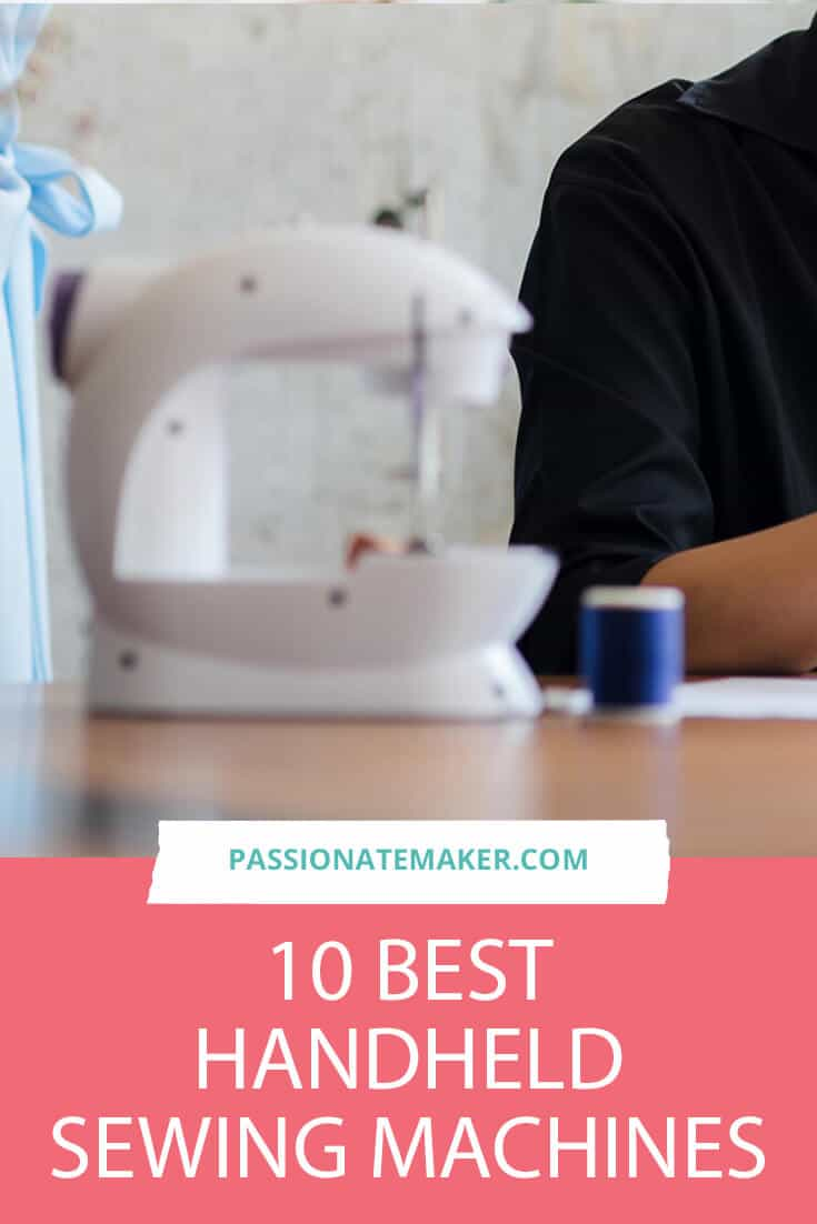 Did you ever have a wardrobe emergency and need to make a quick repair on the go? Here are the best handheld sewing machines that are portable enough to take anywhere.