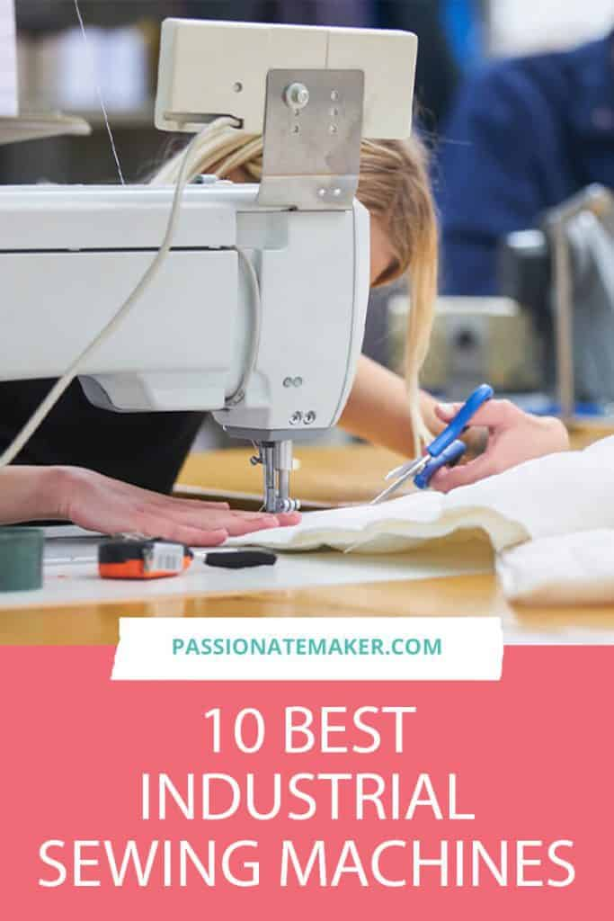 How to choose the best industrial sewing machine for your business. A commercial machine can really help you scale up your business.