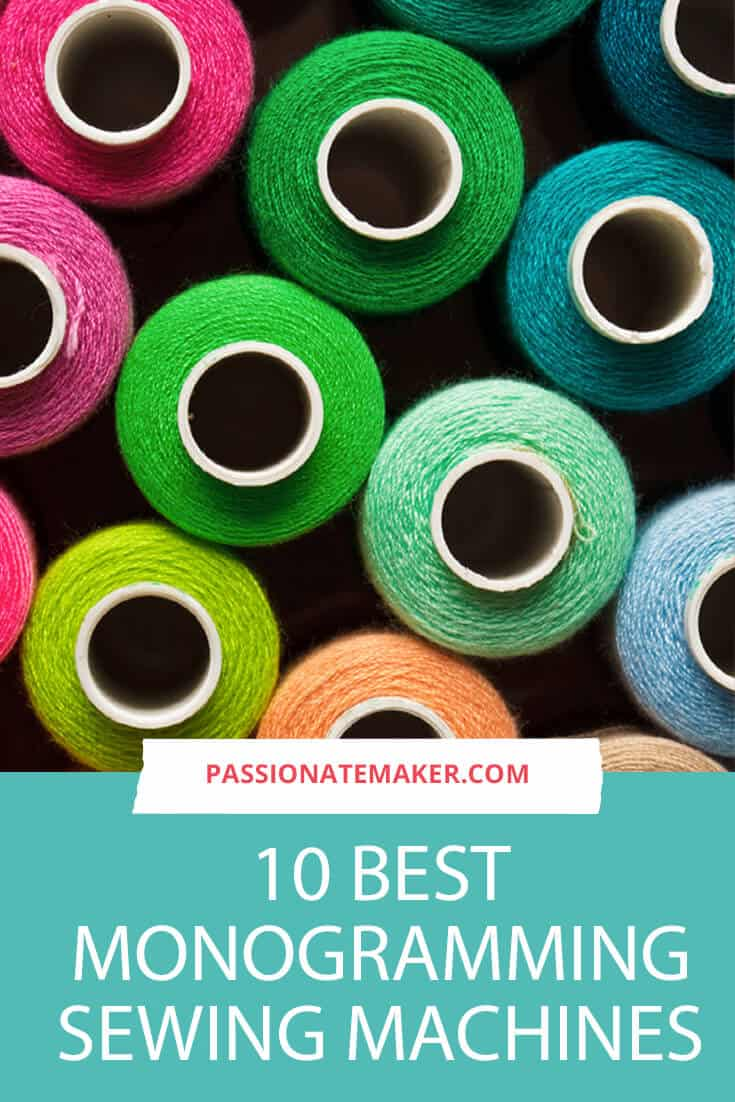 If you're looking for a monogramming and embroidery machine for home use or your creative business, this easy to use guide will help you choose from the best monogramming machines on the market.