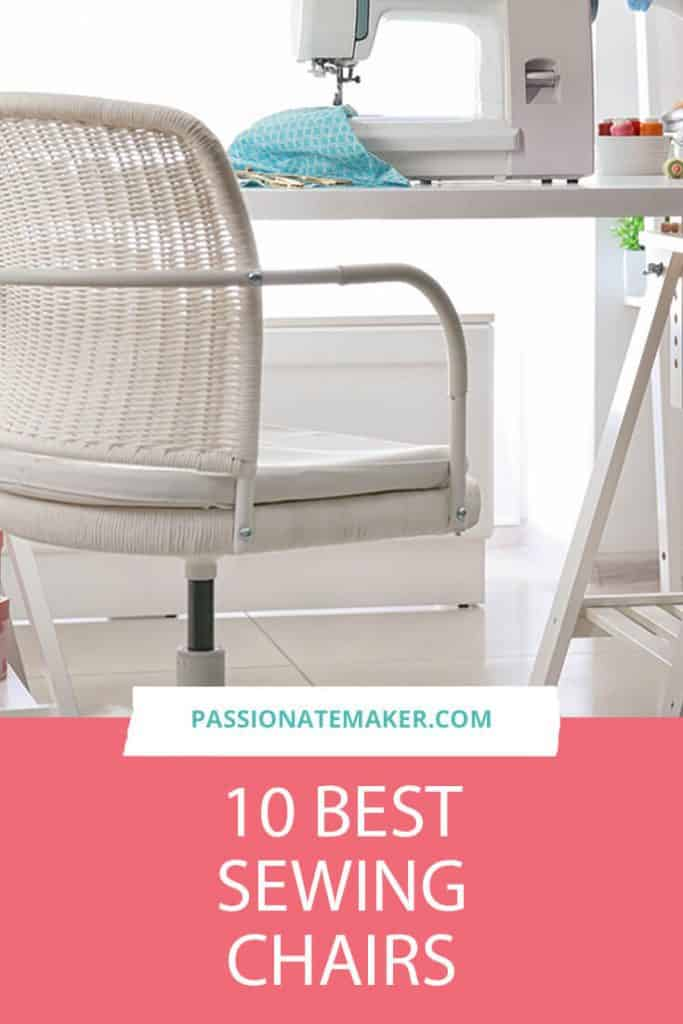 The best sewing chair for your sewing space can make the difference in the joy of creating and an aching back. Here's what you need to know to pick the perfect sewing chair for your space.