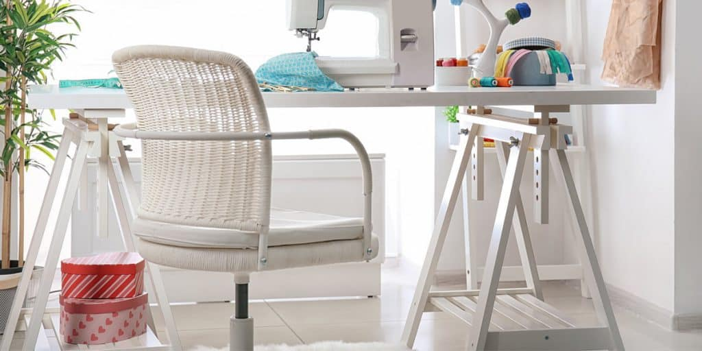 the best sewing chair for makers, sewists and crafters