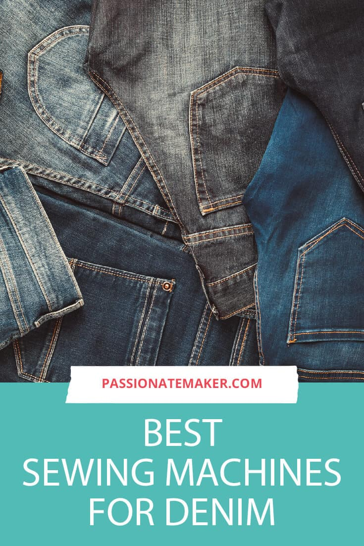 This helpful guide to the beset sewing machine for denim will help you settle on the features you need for the best sewing machine for jeans whether you want to make your first pair, or are looking for an industrial sewing machine for denim.