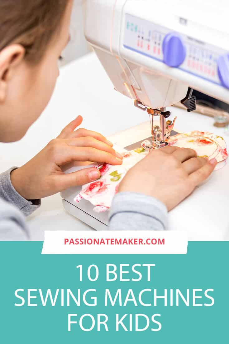 This guide to the best sewing machine for kids will help you choose a machine for your newest sewist!