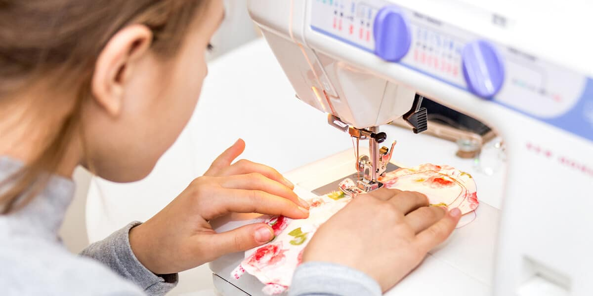 What's the best sewing machine for kids if you want to get your child into sewing?