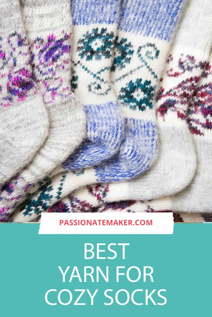 This helpful guide will walk you through the best sock yarn for your project. If you're looking for the best yarn for socks, you'll need to think about who you're knitting for and how the socks will be used. The best sock yarn can be bulky, worsted, DK or even sock yarn weight.