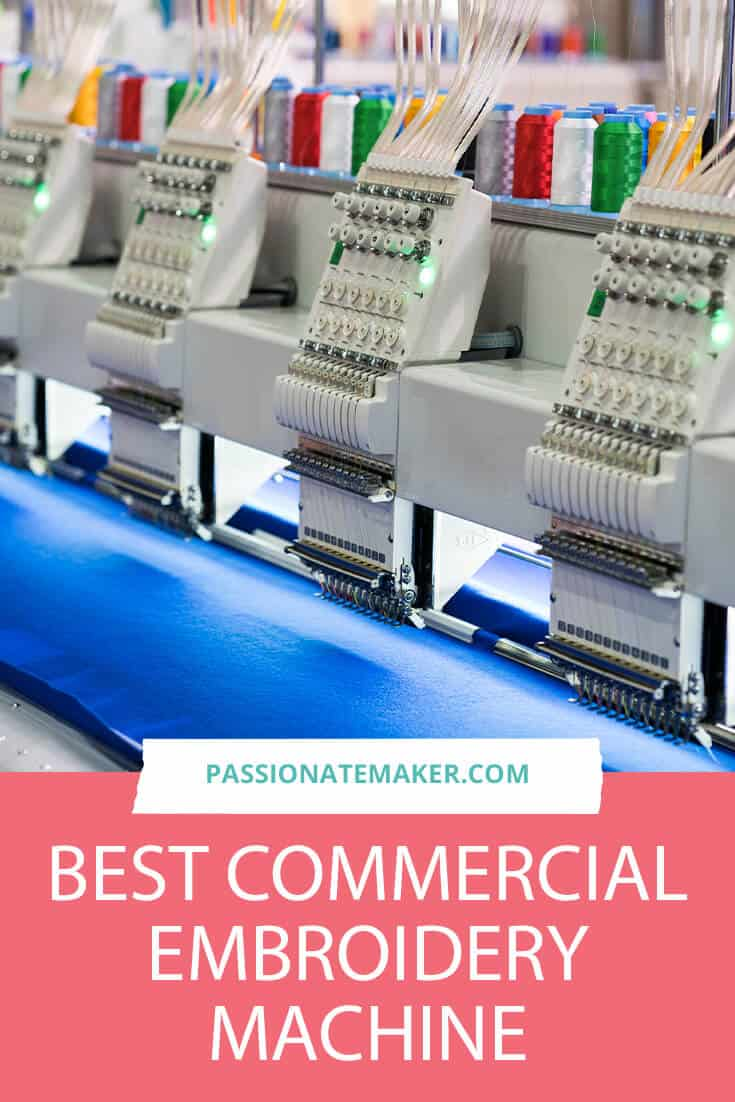 If you want to upgrade your hobby to the real thing, you'll need the best commercial embroidery machine on the. market. Here's a guide that walks you through all the features you need to boost your business to the next level.